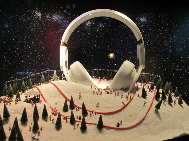 Selfridges headphones.