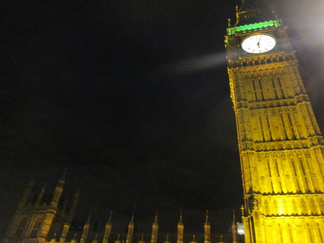 The attention is always on Big Ben