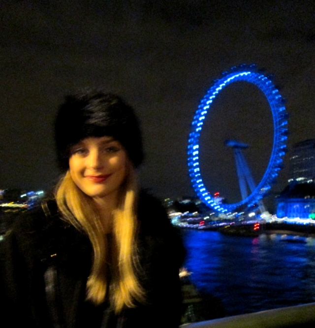 The London Eye & I.